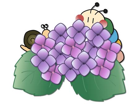 Caterpillar _ hydrangea 1