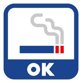 Smoking OK icon