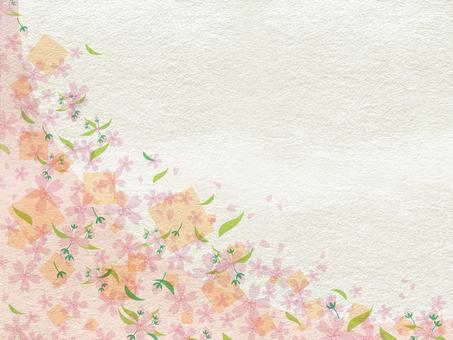Japanese style New Year - Spring background 161019
