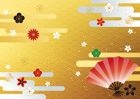 New Year _ and handle _ gold _ background