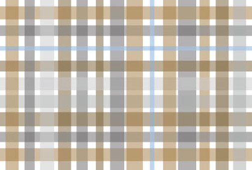 Fall-winter chic pattern with beige of check