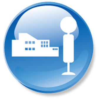 Transportation access icon