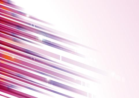 マゼンタの光線