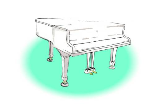 Background Grand Piano Wedding