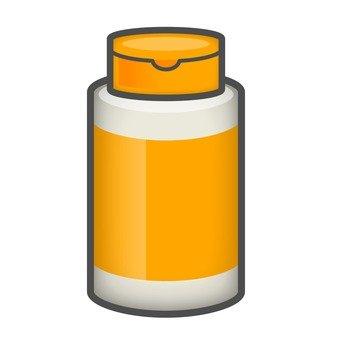 Supplement _ yellow bottle