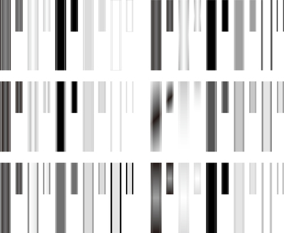 Heading frame monochrome series 1