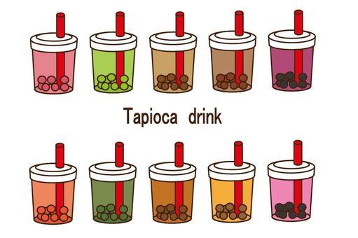 Tapioca drink