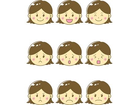Child / girl face 02
