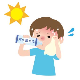 Oral rehydration fluid child