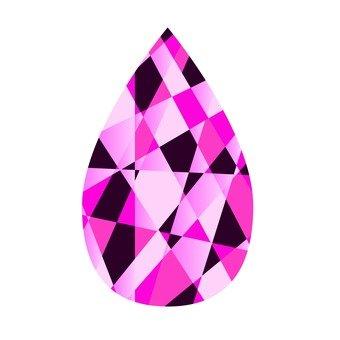 Teardrop - Pink