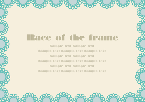 Race-like frame