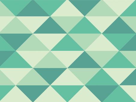 Texture triangular mosaic moss green