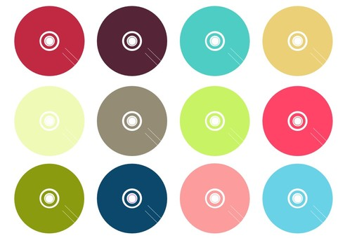 CD retro color