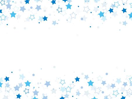 "Starry sky frame ""Blue"""