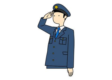 Simple-police officer (color)