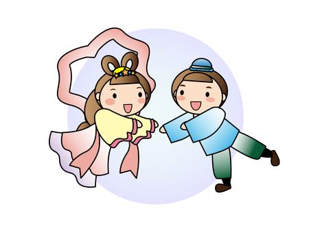 Tanabata Hikari and Orihime
