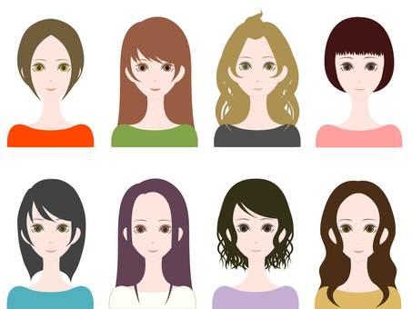 Hair color 1