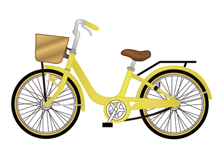 Bicycle _ yellow