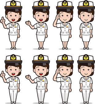 Self-Defense Officer 1 (Women · Maritime Self-Defense Force)