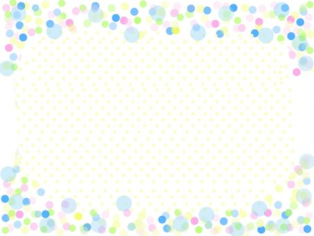 Polka dot pattern card
