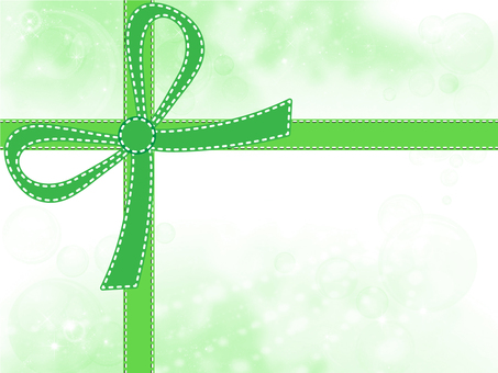 Frame with ribbon 02