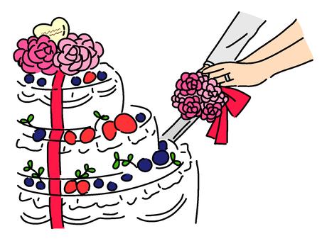 Cake sword (at hand)