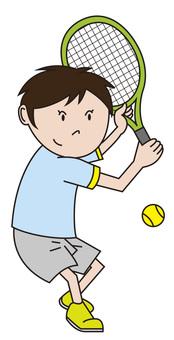 Tennis boy 2