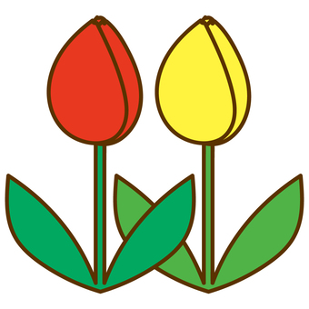Two-wheeled tulip