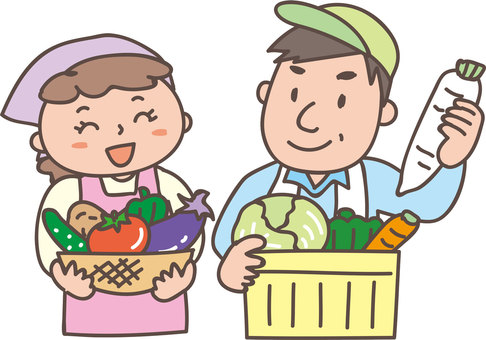 Agricultural couple