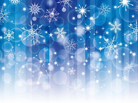 雪景色雪の結晶背景素材壁紙冬1月12月絵