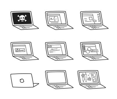 Lots of nice laptop screens