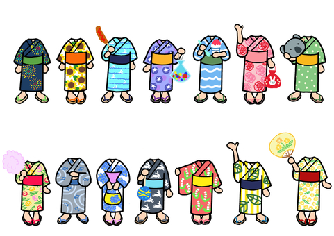 Little Yukata 2 Change clothes