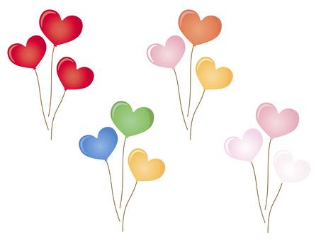 3心臟的氣球