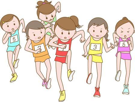 女子馬拉松