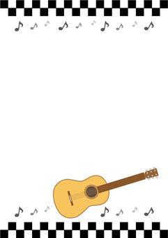 Guitar Frame Vertical (Black)