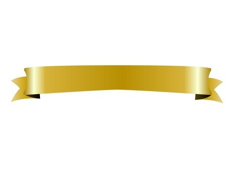Gold Ribbon (Thin) 1