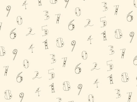 数字のパターンセット