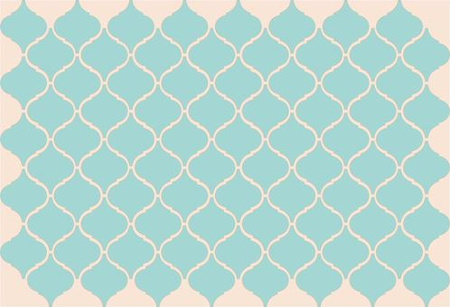 Tile pattern green