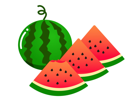 Illustration of watermelon