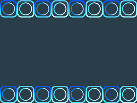 Blue rectangle and circle