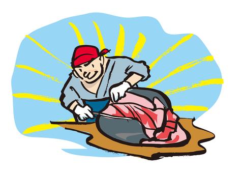 Tuna dissolution show