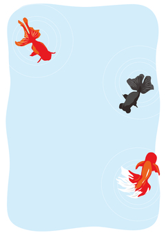 Goldfish's hot postcard