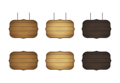 wooden frame set 5