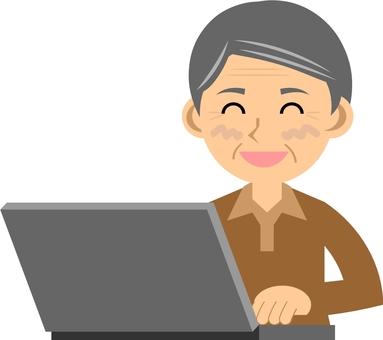 Elderly / Personal computer