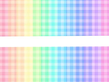 Colorful check