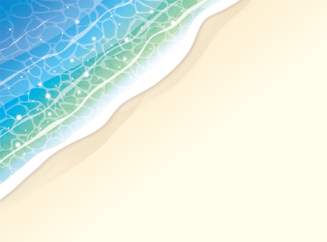 Background of the waves to beat on the beach