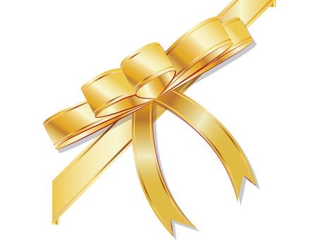 Gold Ribbon Material