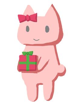 Neko禮品粉紅色