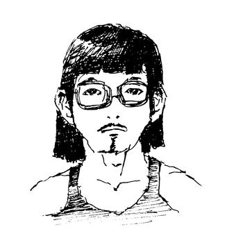 안경 단발