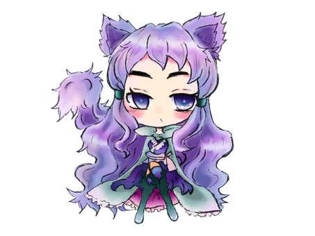 Capricious Cat Daughter